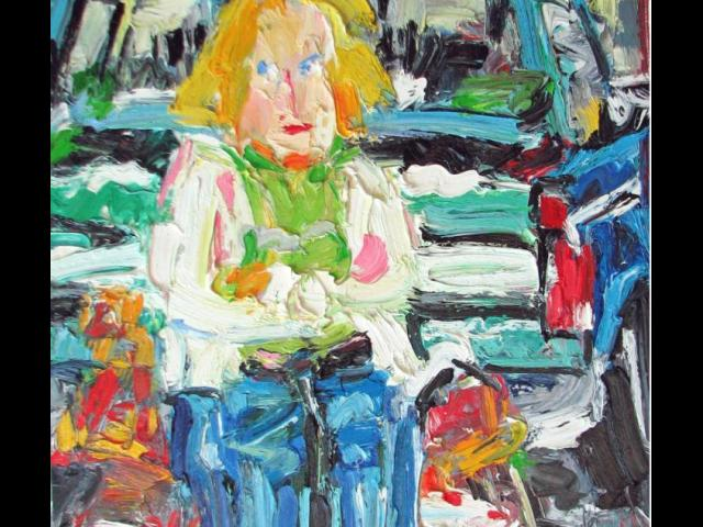 Market Woman, Brady, Oil