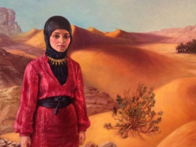 Schary, Oil on Canvas, Middle East