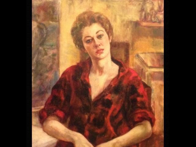 Schary, Oil on Canvas, Self Portrait