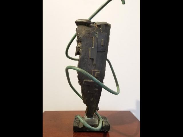 Rosetta Stone, Cast Bronze, Luc-Alain Fiedler