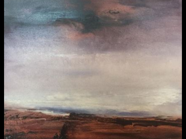 World Below the Earth, Hoffman, Oil on Canvas