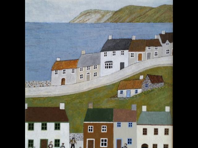 Tippett, Acrylic, By the Sea