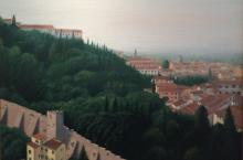 Ciliberti, Oil, View of Rome #1