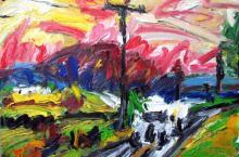 Tom Brady, Delivery Truck Landscape