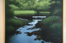 "Gary Kresge, ""Trout Stream"", oil on canvas, 2010"